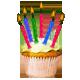 Birthday Cupcake from Mariena R to Intan Eddie