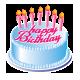 Birthday Cake from Enrique_ E to Intan Eddie