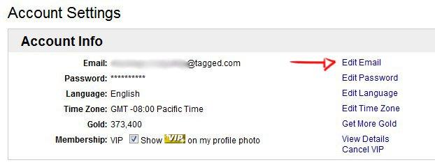 How do I change my email address?