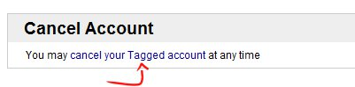 Cancel Account